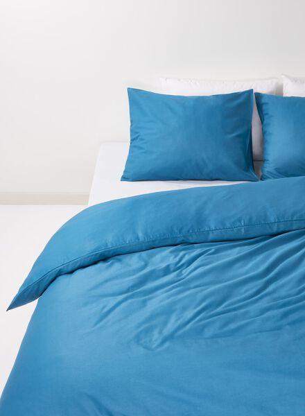 duvet cover - soft cotton - uni dark denim dark denim - 1000014133 - hema