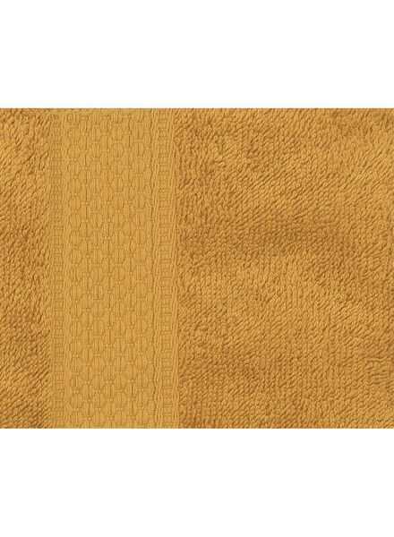 towel - 70 x 140 cm - heavy quality - ochre plain yellow ochre towel 70 x 140 - 5220023 - hema
