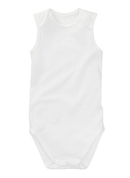Zwei Bodys - Bio-Baumwollstretch weiß weiß - 1000005197 - HEMA