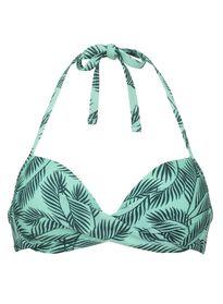 e2643b197783b5 dames bikinitop push-up beugel groen