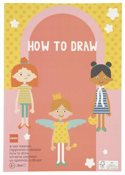 kleurboek - ik leer tekenen - 15910092 - HEMA