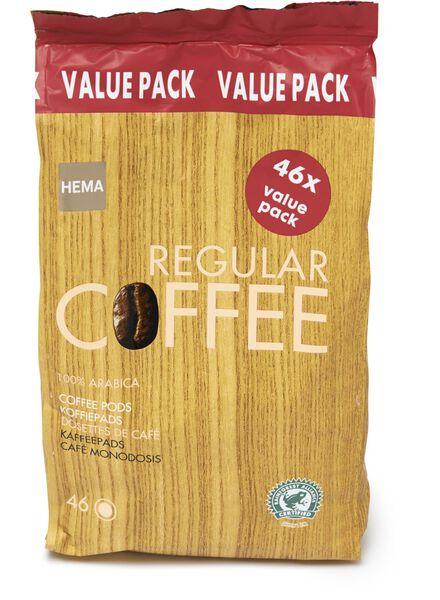 dosettes de café regular XXL - 17100021 - HEMA