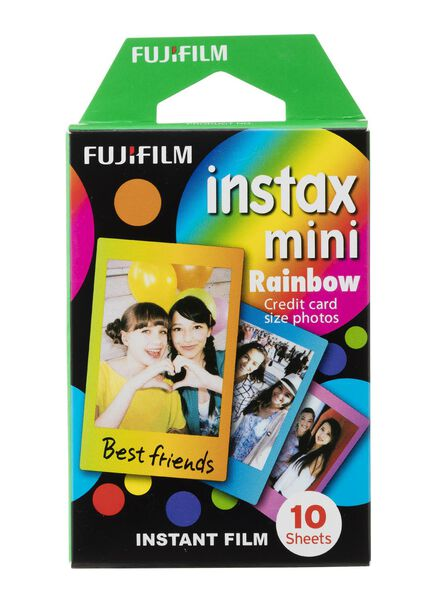 10 films Instax rainbow Fujifilm - 60300394 - HEMA