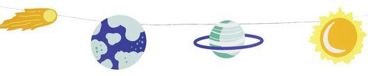Weltraum-Girlande – 250 cm - 14210146 - HEMA