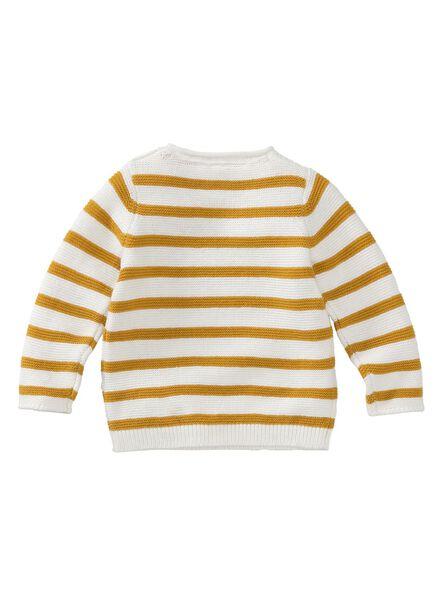 Baby-Pullover eierschalenfarben eierschalenfarben - 1000011505 - HEMA