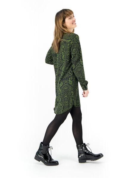Damen-Bluse mittelgrün mittelgrün - 1000016832 - HEMA