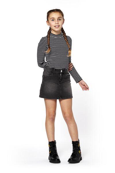 children's skirt black black - 1000017999 - hema