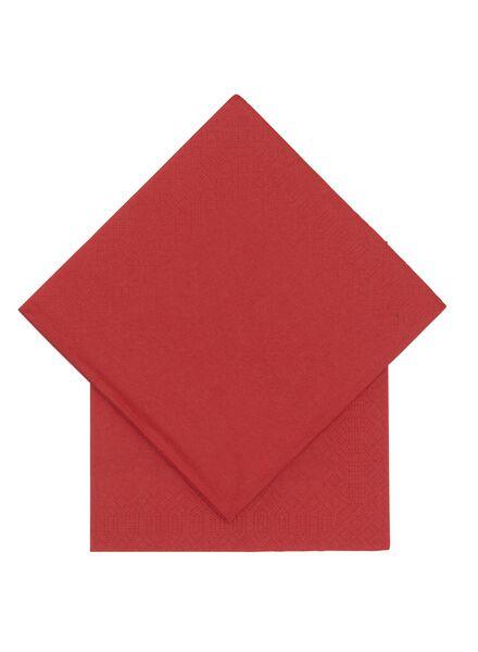 20-pack napkins 33 x 33 cm - 25600540 - hema