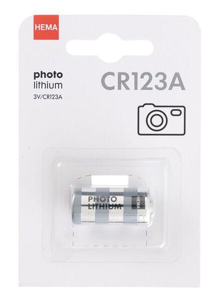 Lithium-Fotobatterie, Typ CR123A - 41290274 - HEMA