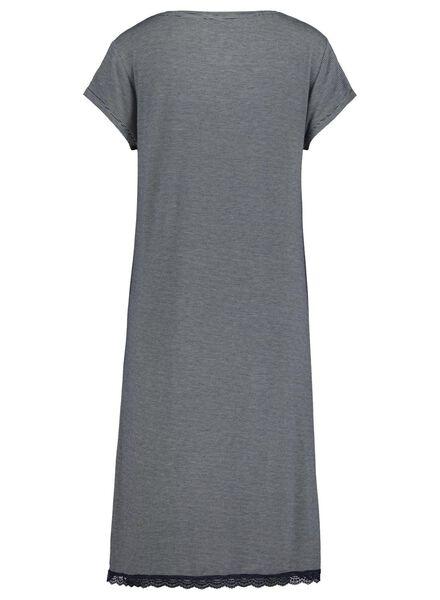women's nightshirt dark blue dark blue - 1000017251 - hema