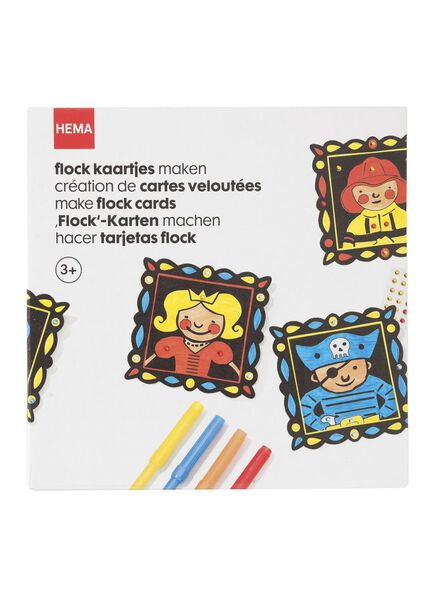 Flock-Karten basteln - 15990152 - HEMA