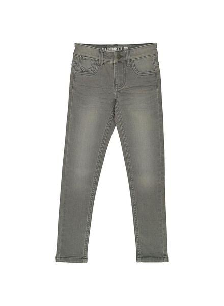 jean skinny enfant gris gris - 1000014231 - HEMA