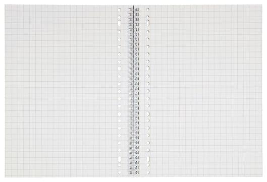 Collegeblock, DIN A4, kariert (10 x 10 mm), braun - 14102926 - HEMA