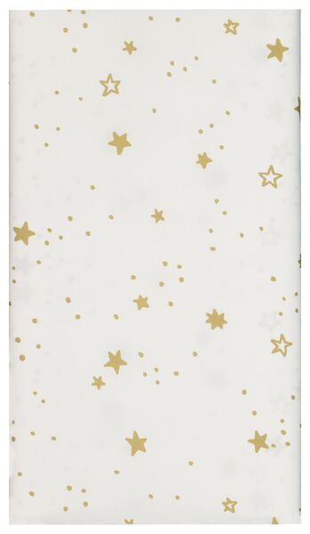 tablecloth paper 138x220 white with stars - 25600150 - hema
