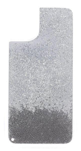 Softcase für iPhone XR/11, Perlen, silber - 39680110 - HEMA