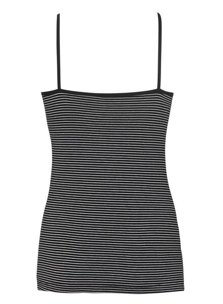 women's singlet cotton black black - 1000011441 - hema