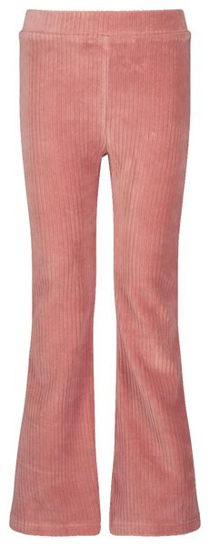 children's trousers flared pink pink - 1000020303 - hema