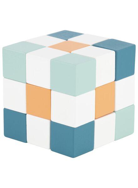 wooden magic puzzle cube - 15190303 - hema