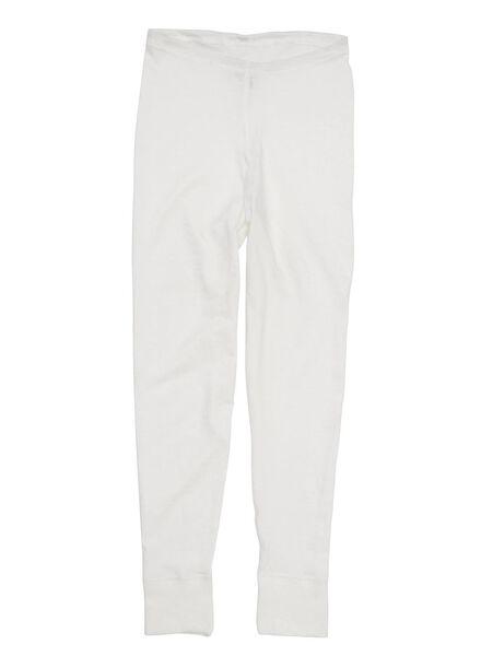 pantalon thermo enfant blanc blanc - 1000001504 - HEMA