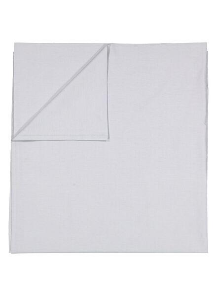 drap - 240 x 260 - coton doux - gris clair - 5100024 - HEMA