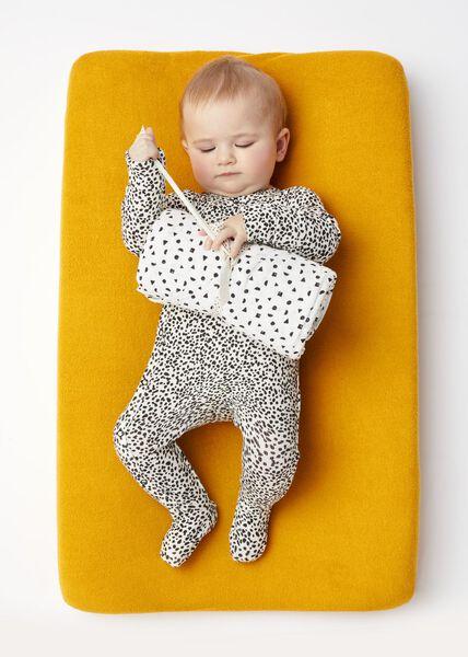 Newborn-Jumpsuit mit Bambus schwarz schwarz - 1000017633 - HEMA