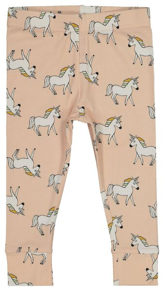 baby pyjamas with bamboo light pink light pink - 1000018084 - hema