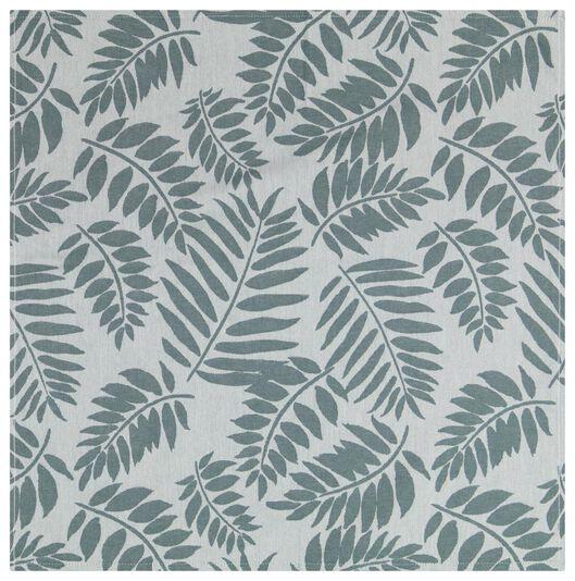 Geschirrtuch, 65 x 65 cm, Baumwolle, Blätter, grün - 5410124 - HEMA