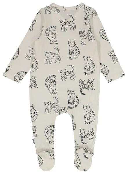 Newborn-Jumpsuit, Wickeloptik eierschalenfarben eierschalenfarben - 1000022583 - HEMA