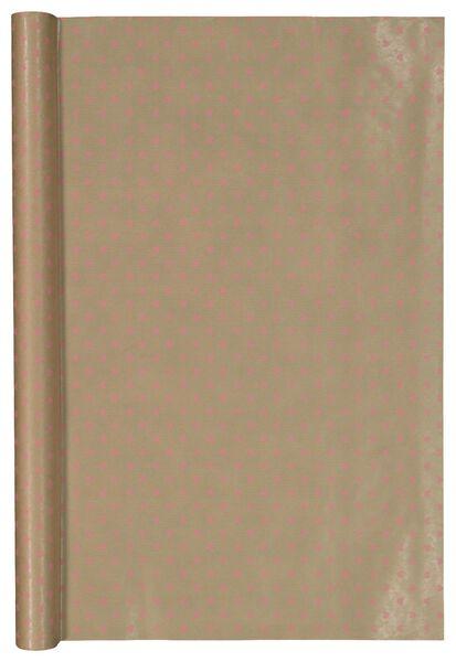 papier cadeau kraft - 70 x 200 - 14700375 - HEMA