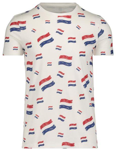 men's T-shirt white white - 1000019462 - hema