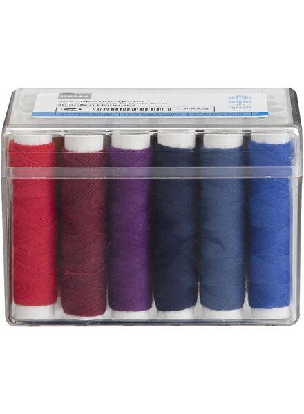 box of 30 reels of thread - 1461128 - hema