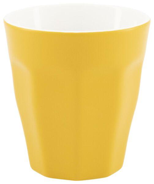 mug- 250 ml - Mirabeau mat - jaune - 9602208 - HEMA