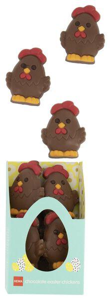 poules de Pâques chocolat au lait - 10081038 - HEMA