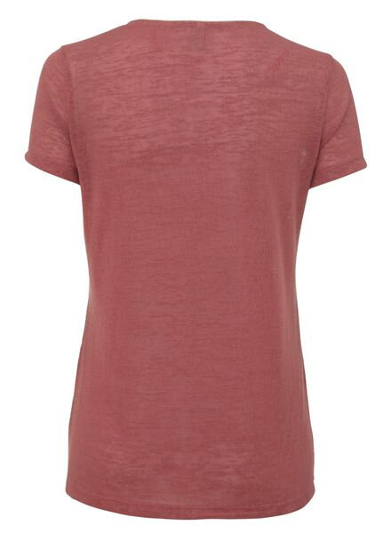 women's T-shirt dark pink dark pink - 1000007492 - hema