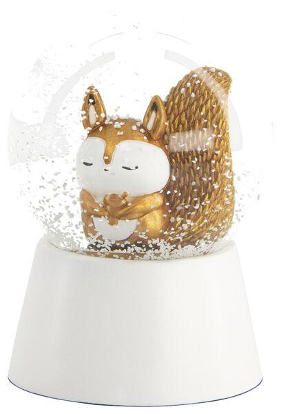 sneeuwbol Ø 8 cm eekhoorn - 25103271 - HEMA