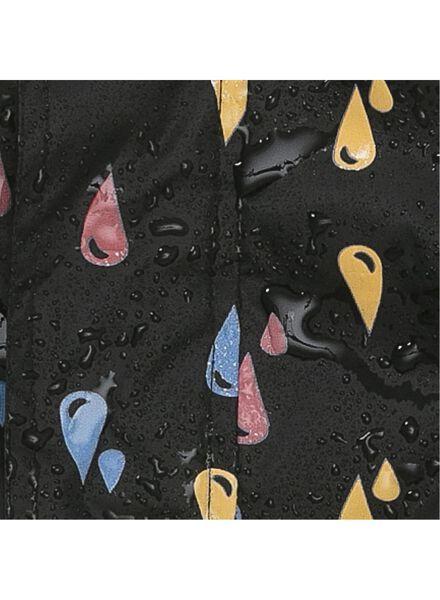 farbwechselnde Zauber-Kinder-Regenjacke schwarz 122/128 - 18451153 - HEMA