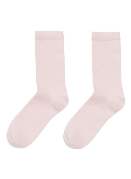 2-pack women's socks pink pink - 1000001767 - hema