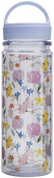waterfles 500ml bloemen - 61140145 - HEMA