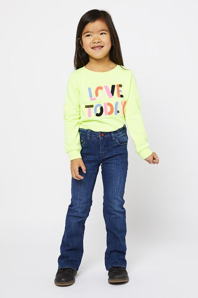 children's jeans flared denim 116 - 30861147 - hema