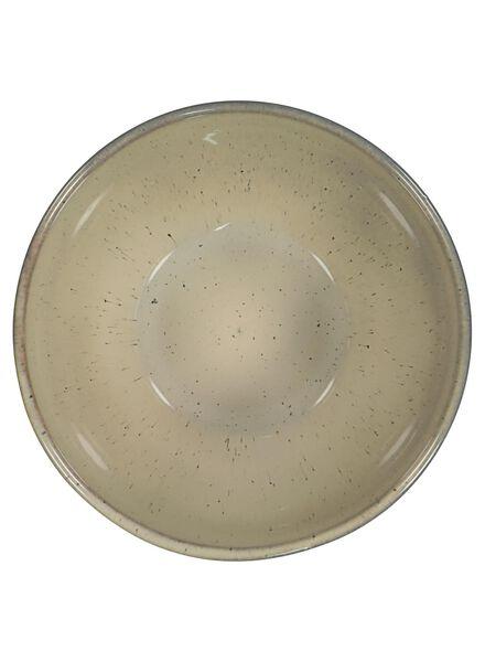 bowl 14 cm - Porto reactive glaze - sand - 9602038 - hema