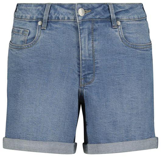 Hosen - HEMA Damen Jeansshorts Hellblau  - Onlineshop HEMA