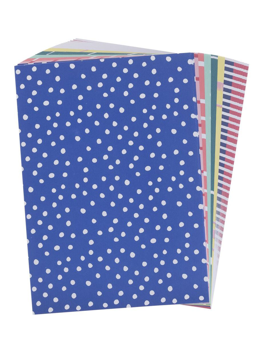 Coloured Patterned Paper