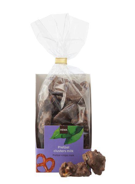 rochers bretzel au chocolat au lait - 10311030 - HEMA