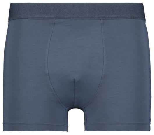 herenboxers kort - modal stretch 2 stuks blauw blauw - 1000022799 - HEMA