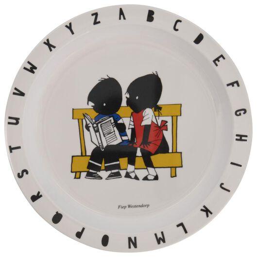plate Jip and Janneke Ø 21.5 cm melamine - 80660040 - hema