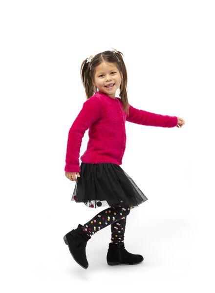 children's cardigan dark pink dark pink - 1000017214 - hema