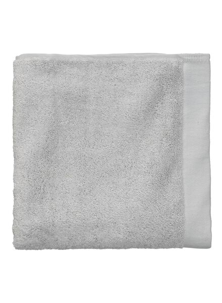 towel - 60 x 110 cm - ultra soft - light grey light grey towel 60 x 110 - 5217008 - hema