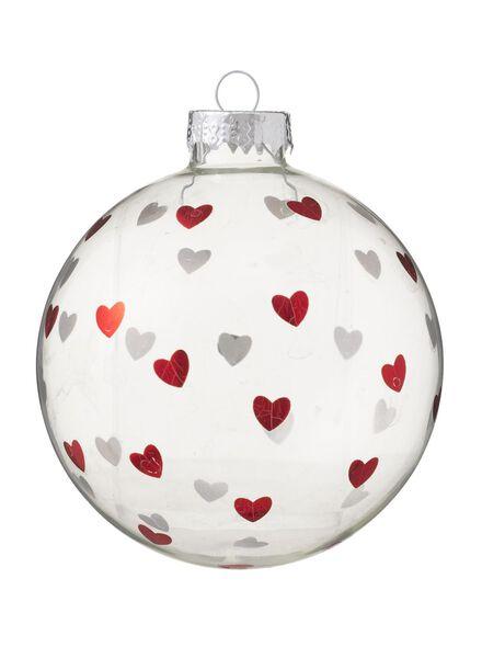 boule Noël en verre - 25100040 - HEMA