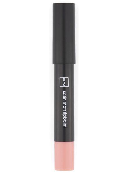 satin matt lip balm 11 light pink - 11230311 - hema