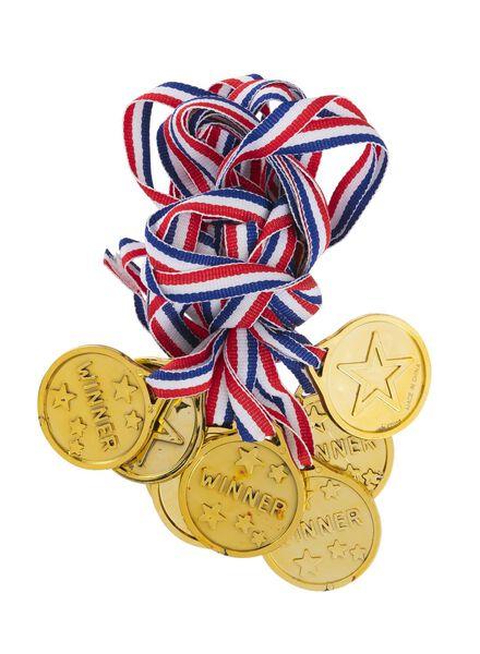 lot de 8 médailles - 14230092 - HEMA